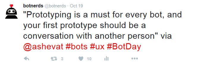 bot day prototyping